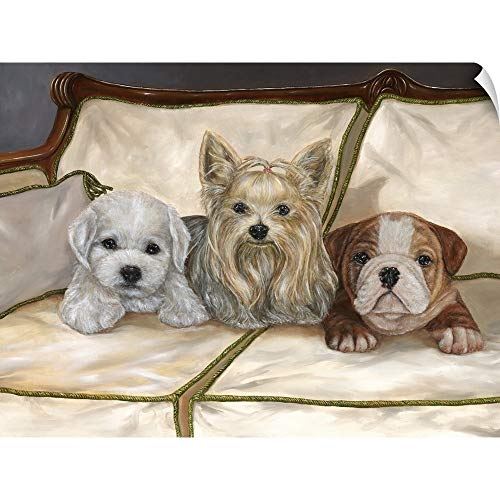 - CANVAS ON DEMAND Sophie and Friends Wall Peel Art Print, 16