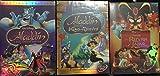 Aladdin Trilogy: Platinum Edition, King of Thieves, Return of Jafar New Sealed!!