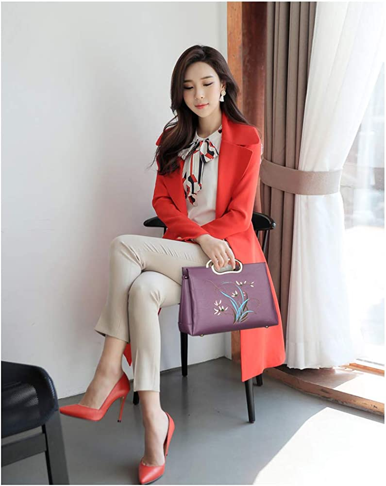 Suitable for Girls Sending Girlfriends Womens Hand Bag Shoulder Bag Diagonal Cross Bag Lady Gentlemans Bag Party Business Travel Gifts Girlfriends Handbag