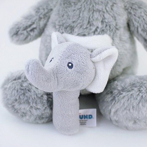 Gund Baby Oh So Soft Elephant & Rattle Combo by GUND (Image #5)