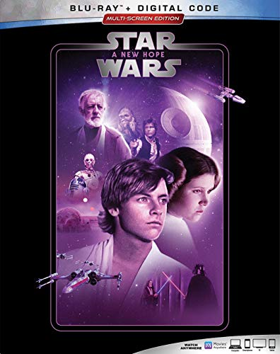 STAR WARS: A NEW HOPE [Blu-ray] (Star Wars A New Hope Original Version)