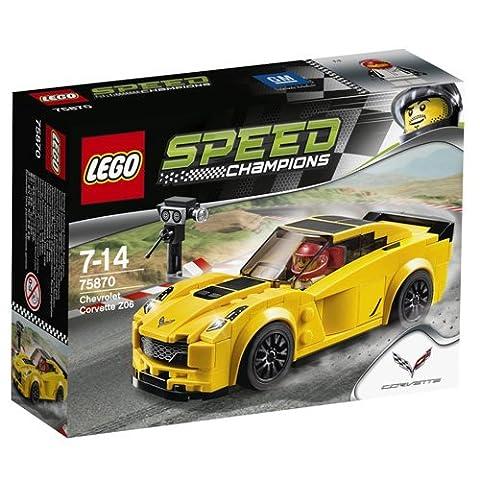 LEGO Speed Champions Chevrolet Corvette Z06 (75870) - Corvette Z06 Logo