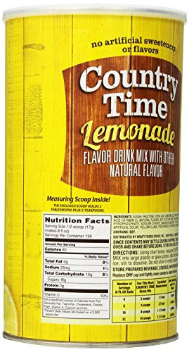 Amazon Country Time Flavored Drink Mix Lemonade 825 Ounce