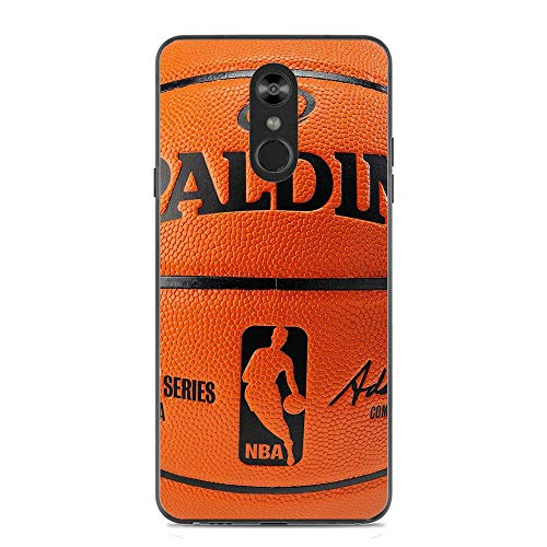 Basketball Flexible Slim Silicone TPU Protector Back Cover for LG STYLO 4
