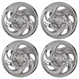 99 ford expedition rims - Set of 4 Chrome Wheel Skin Hub Covers With Center For Ford ('97 - '03 F150) & '97 - '00 Expedition 16x7 Inch 5 Lug Steel Rim - Aftermarket: IMP/01X