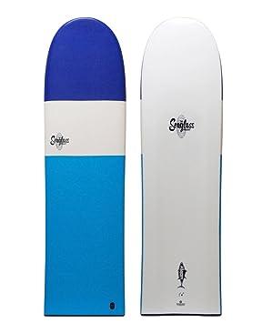 Seaglass Unisex Albacore tabla de surf, azul / blanco