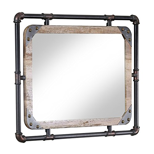 24/7 Shop at Home 247SHOPATHOME IDF-7914M Wall Mirror, - Framed Desk Mirror