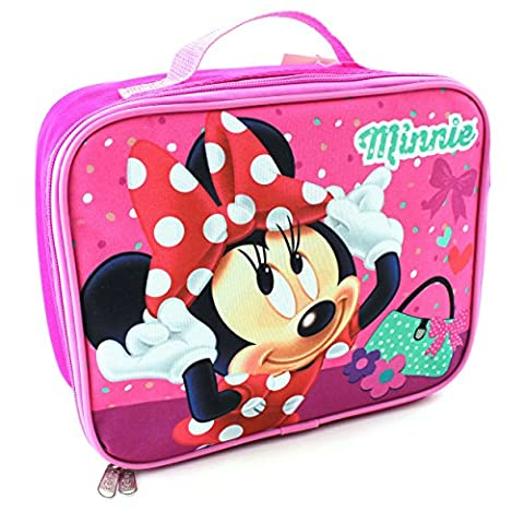 Minnie Mouse Soft Lunch Box (Minnie Mouse Pink)