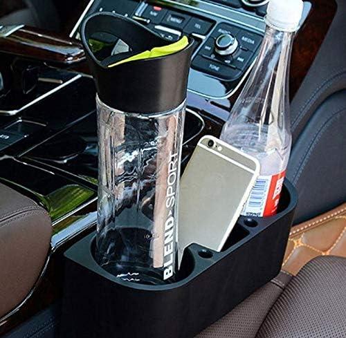 M-import Schwarz Autositz Seiten Getr/änkehalter Lagerung Trinkflasche Multifunktions Fahrzeug Kann Becherhalter Stehen Geeignet f/ür die meisten Auto