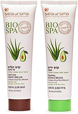 Lot of 2 Sea Of Spa Dead Sea Hand & Foot Cream enriched with Avocado oil & Aloe Vera