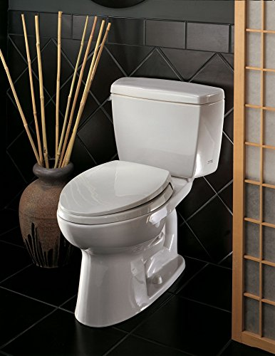 Drake 2-piece 1.6 GPF Elongated Toilet in Cotton by TOTO (Image #4)