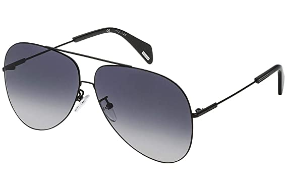 75f668989c Sunglasses Police GOLDENEYE 3 SPL406 0530 Unisex Black Aviator Gradient   Amazon.co.uk  Clothing