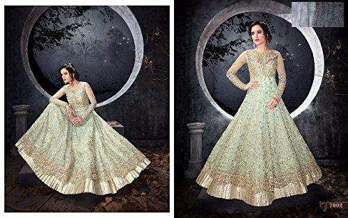 Eid Special Offer White Color Gown Designer Dress Maßanfertigung ...