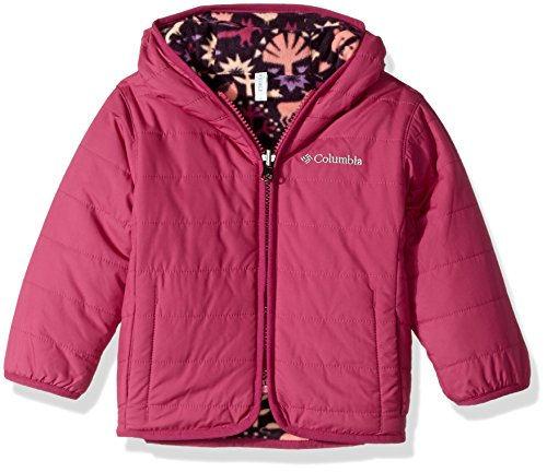 Columbia Baby Boys' Double Trouble Jacket, Deep Blush Critters, 12-18 Months (Baby Coat)