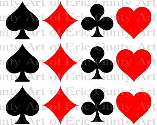 Fabulous Las Vegas Casino Poker Birthday Cake Side Strip Edible Cake Birthday Cards Printable Benkemecafe Filternl