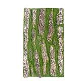 cheerfullus 1PCS Decorative Natural Artificial Bark Decoration Fake Bark Moss Landscape Garden Decoration,30x50cm