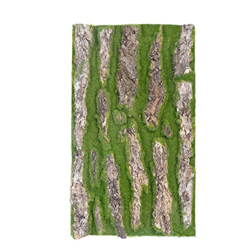 Johlycao Garden Decorative Artificial Bark, Decorative Pipe Sewer Natural Artificial Bark Decoration Fales Bark Moss Landscapinig Garden Decorative Bark, 3050cm by Johlycao