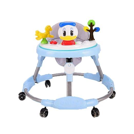 LFY Andadores para bebés, 6-18 Meses de los niños Caminador Anti ...