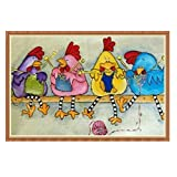 DIY 5D Full Drill Chicken Diamond Painting,Jchen(TM) Home Decor Craft 5D DIY Diamond Painting Kit Pasted DIY Diamond Painting Cross Stitch