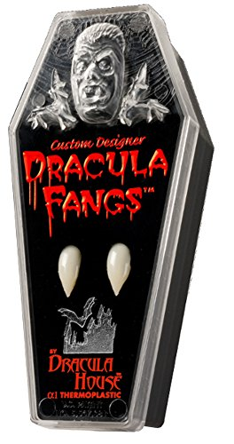 Thermoplastic Custom Dracula Fangs (Medium) Pkg/1