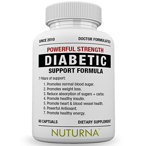 Diabetic Support Supplement - 28 VITAMINS Minerals & Herbs for Blood Sugar Support - Healthy Body Weight & Extra Energy Support Naturally - Premium Diabetes Multi-Vitamin For Men & Women - Sugar Blood Regulator