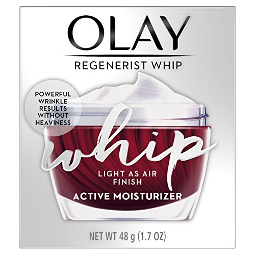 Face Moisturizer by Olay Light Face Moisturizer Cream, Oil Free, Regenerist Whip