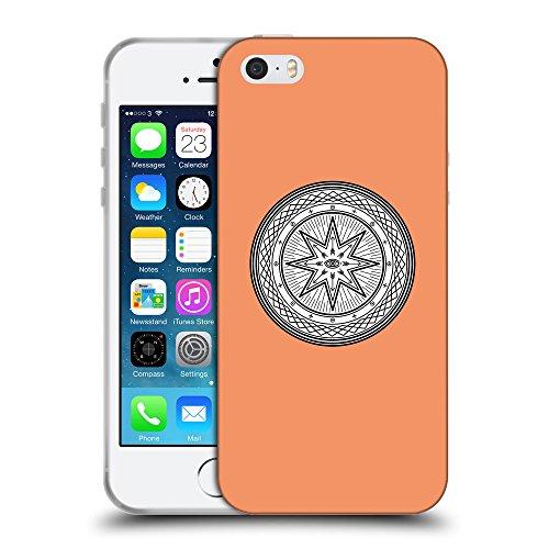 GoGoMobile Coque de Protection TPU Silicone Case pour // Q09700607 Mystique occulte 19 Mandarine // Apple iPhone 5 5S 5G SE