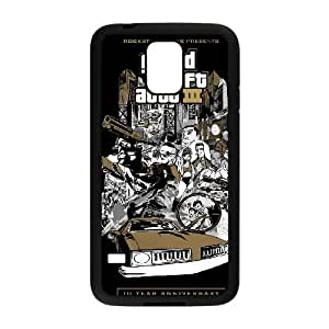 grand theft auto chinatown wars Samsung Galaxy S5 Cell Phone Case Black Customized Items zhz9ke_7298366