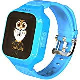 3G GPS Tracker Best Waterproof Wrist Smart Phone Watch for Kids with Sim
