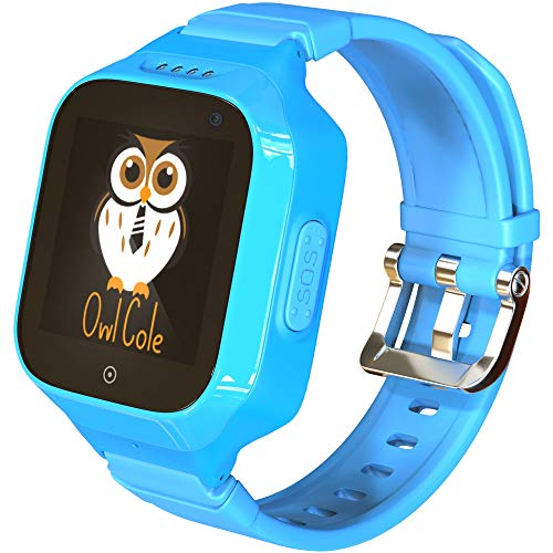 3G GPS Tracker Best Waterproof Wrist Smart Phone Watch for Kids with Sim Slot Camera Anti Lost Fitness Tracker Birthday Holiday for Children Boys Girls iPhone Android Smartphone (Best Smartphone For Child)