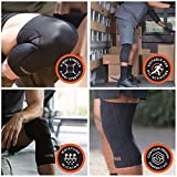 Copper Fit Unisex-Adult's Freedom Knee Compression