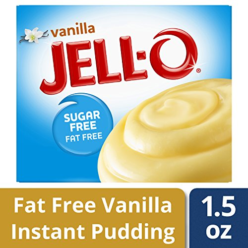 Jell-O Sugar-Free Instant Pudding & Pie Filling, Vanilla, 1.5 oz by Jell-O (Image #1)