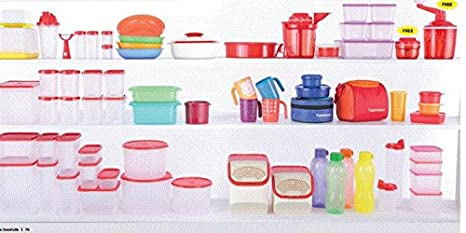 Buy Hooriyas Tupperware 278 Mega Set With 49 Items To Fill Your All