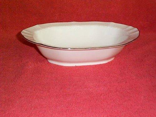 - Noritake Chandon Platinum Oval Vegetable Bowl