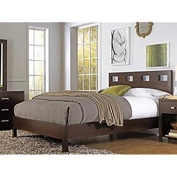 Amazon Com Modus Furniture Nevis Platform Bed Espresso