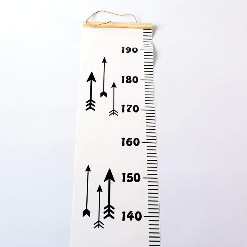 1# der einfache Hauptdekoration-Kinderwachstumstabelle h/ölzerne rollbare Fotografie-St/ützen-H/öhenma/ß h/ängt szdc88 Herrscher
