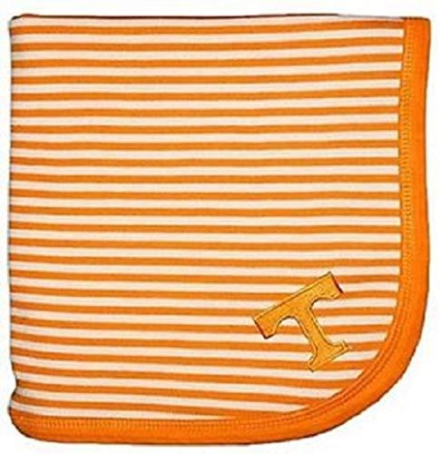 (Creative Knitwear Tennessee Vols Striped Baby Blanket Orange)