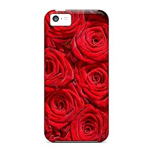New Premium Case Cover For Iphone 5c/ Million Roses Protective Case Cover