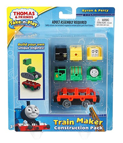 Stocking Stuffer toys 4 year old boys. Fisher-Price Thomas The Train Take-n-Play Engine Construction Pack