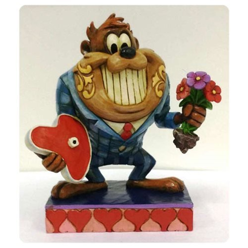 Jim Shore Looney Tunes Dinner Date Night with Taz in Suit Figurine 4055773 New ()