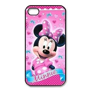 iPhone 44S Teléfono Móvil Negro Minnie Mouse zxc9551669