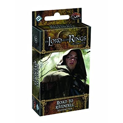 Lord of the Rings LCG: Road to Rivendell: Fantasy Flight Games: Toys & Games