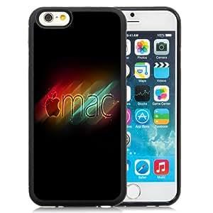 Fashion DIY Custom Designed iPhone 6 4.7 Inch TPU Phone Case For Glowing Apple Mac Logo Phone Case Cover