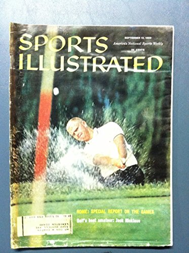 1960 Sports Illustrated September 12 Jack Nicklaus (First Cover) Poor [[Heavy Moisture - readable]]
