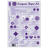 Template 8.5x11: Kirigami Paper Art