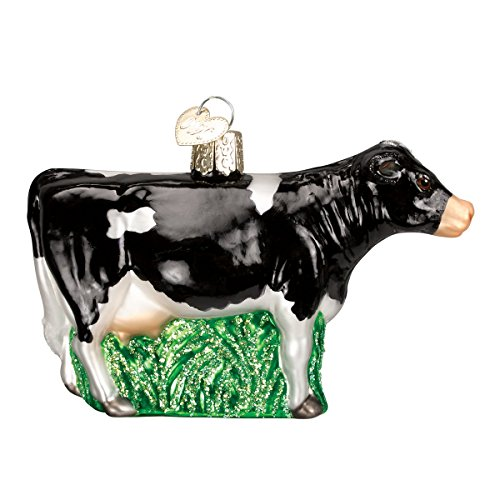 Cow Christmas Ornaments - Old World Christmas Glass Blown Ornament