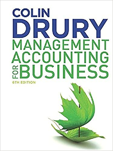 Book Management Accounting for Business