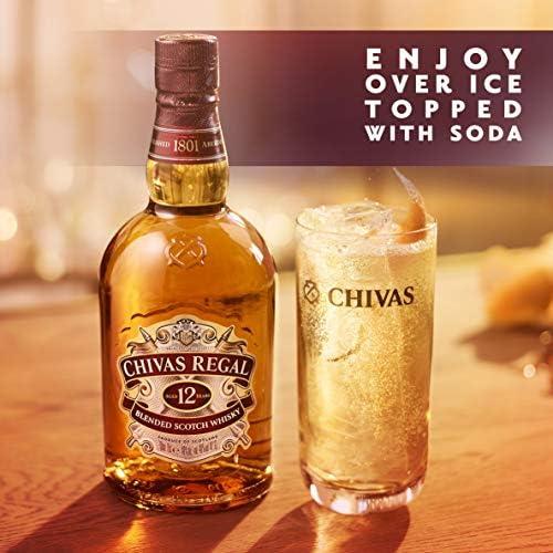 Chivas Regal 12 Year Old Whisky Whisky 70 cl: Amazon.es: Alimentación y bebidas