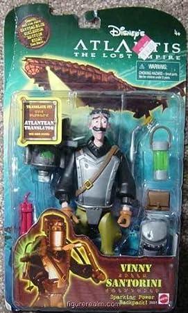 Vinny Santorini from Atlantis - Lost Empire Action Figure by Mattel: Amazon.es: Juguetes y juegos