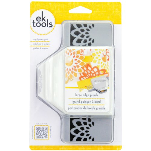 EK tools Large Edge Punch, Flower Burst - Craft Flower Punch